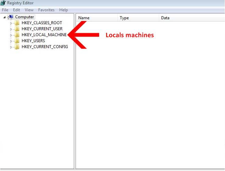 Window registry files
