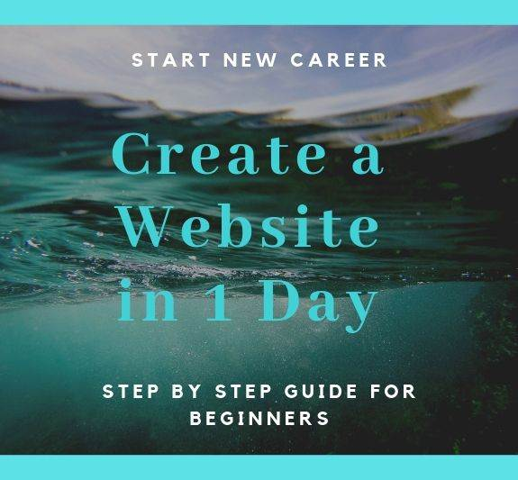 Beginners guide how to create a website