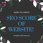How to check Seo of website