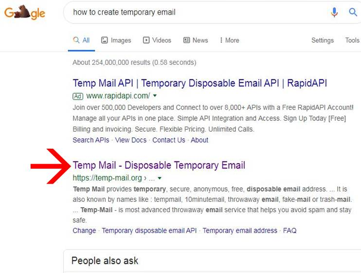 How To Create Temporary Email