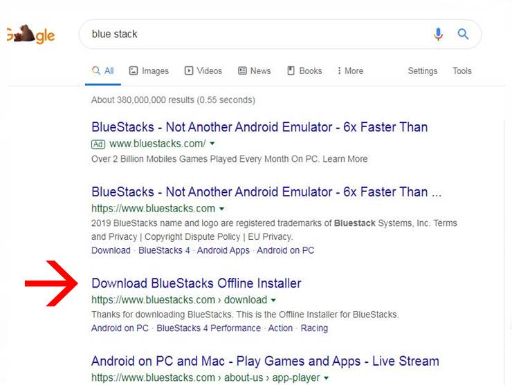 download bluestack