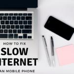 Slow internet on laptop