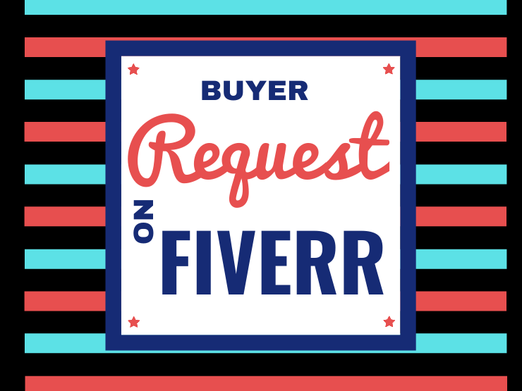 How to see buyers request on fiverr