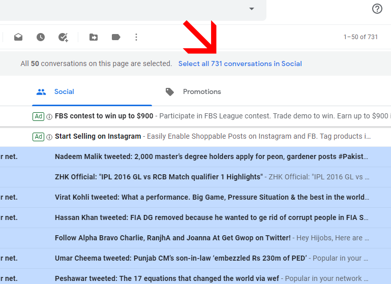 How to Empty Gmail Account in One Click